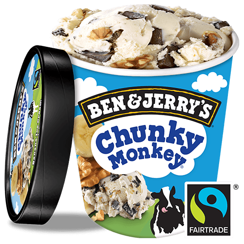 Foto Ben & Jerry's Chunky Monkey 500ml